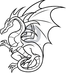 description here is the finished when you are all done now choose a color in add some to your drawing of this flying dragon
