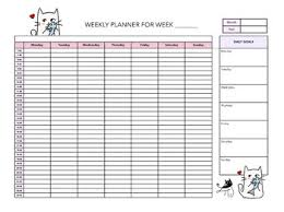hourly agenda hourly week planner magdalene project org