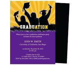 Diy Graduation Invitations Announcement Cards Invitation Template