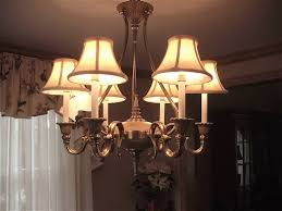 small chandelier shades