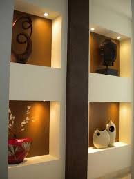 Small Picture Contemporary Wall Niches Design Decorating Your Living Room