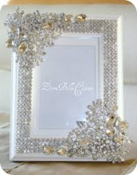 crystal encrusted 5x7 swarovski sparkle by zarabellacouture omg Crystal Wedding Invitation Frame crystal encrusted swarovski sparkle by zarabellacouture this is my kinda frame Rhinestone Wedding Invitations