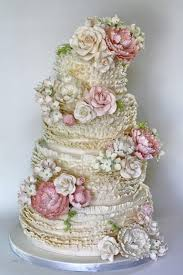 Ruffle Wedding Cakes Wedding Cake Design 846537 Weddbook