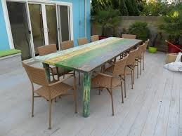 custom made dining table multi coloured