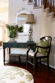white foyer table. Interesting Small Foyer Table Designs. Astounding Home Entry Way Featuring Black Painted White E