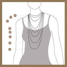 Necklace Size Chart Necklace Size Chart Mayabazaar