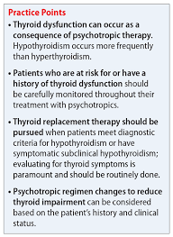 on thyroid function