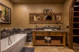 Rustic Bathroom Design Simple Decorating Design