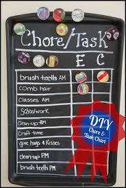 Diy Chore Task Chart Suburban Wife City Life