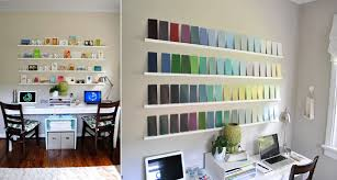 add a bit of color with paint swatches