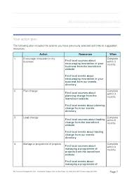 Free Online Business Plan Template Personal Business Plan Template Personal Business Development Plan