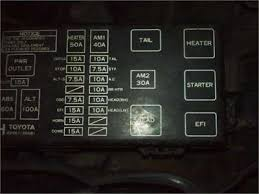 toyota tercel wagon fuse box questions & answers (with pictures 1996 Ford Explorer Fuse Diagram at 1996 Toyota Tercel Fuse Box Diagram