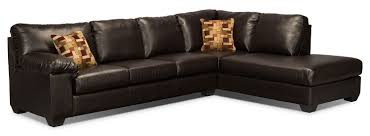 leather sofa bed. Interesting Bed Living Room Furniture  Morty Bonded Leather Sofabed Sectional With Right  Chaise Brown With Sofa Bed T