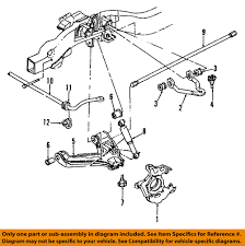 Gm oem stabilizer sway bar front bracket 88891781 ebay rh ebay 2007 gmc sierra parts diagram 2007 gmc sierra front bumper parts diagram