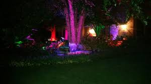 Color Changing Landscape Lights Outdoor Lighting With Color Changing Themes For Every