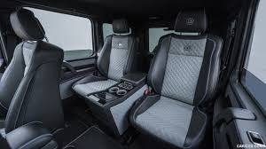 Ideally equipped for every adventure straight from the factory: 2017 Brabus 550 Adventure 4x4 Based On Mercedes Benz G Class 4x4 Interior Rear Seats Hd Wallpaper 49