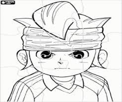 Disegni Di Puzzles Di Anime Manga Da Colorare E Stampare