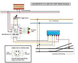 dcc loft layout newby i also have led indicators on my control panel so use masterswitches from dcc concepts to control everything here is my wiring diagram