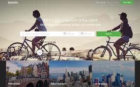 airbnb style bicycle al platform