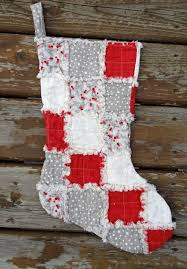 Best 25+ Quilted christmas stockings ideas on Pinterest | DIY ... & Rag Quilted Christmas Stocking Kate and Birdie buy 2 save 10 Adamdwight.com