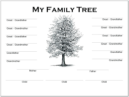 free family tree template editable 5 generation family tree template with cousins throughout free excel