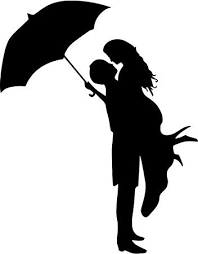 Collection Of Couples Kissing Silhouette Download More Than 30