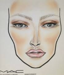 mac cosmetics face chart looks charts by make up look new collection wear it everywhere