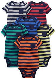 Simple Joys By Carters Baby Boys 6 Pack Short Sleeve Bodysuit