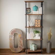 industrial style shelving. Weston Home Factory Bookcase Industrial Style Shelving F