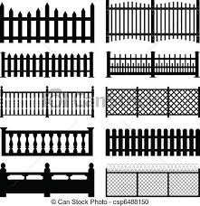 picket fence drawing. Drawn Fence Garden #1 Picket Drawing