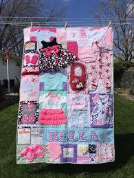 baby dress quilt via