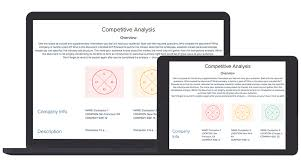 Competitive Analysis Matrix Template Competitive Analysis Template