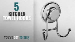 kitchen towel hooks. Top 10 Kitchen Towel Hooks [2018]: HASKO Accessories - Powerful Vacuum Suction Cup Holder For .