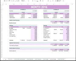 Microsoft Excel Budget Template Listoflinks Co