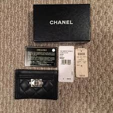 chanel card holder. chanel accessories - card holder authentic chanel ,
