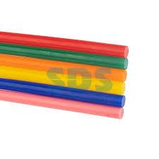 <b>Клеевые стержни REXANT</b>, Ø7 мм, 100 мм, цветные, 12 шт ...