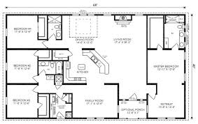 full size of simple 4 bedroom house plans one story in kenya pdf ranch floor love