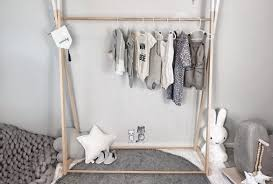 about the project kids wooden clothes rack