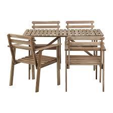 ikea patio furniture. Askholmen Table And 4 Armchairs Outdoor Ikea Patio Furniture Sets IKEA