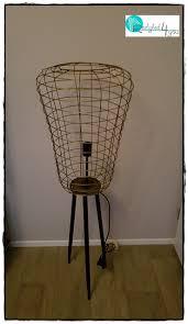 Nieuw Industriële Vloerlamp Staande Lamp Goudzwart Restyled4you