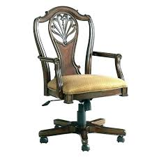 leather antique wood office chair leather antique. Perfect Office Wood Swivel Desk Chairs Antique Chair Wooden Office  A Parts Furniture Vintage  On Leather
