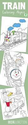 Top 26 Free Printable Train Coloring