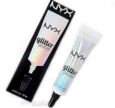 nyx glitter primer review and swatches glitter eye makeup