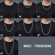 Tennis Chain Size Chart 5mm New White Gold Iced Tennis Chain