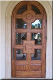 arched front doorCustom Arched Solid Distressed Wood Entry Door 8 Height