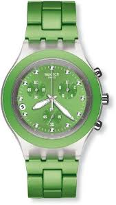 17 best images about what time is it women s swatch full blooded lime green chronograph dial aluminum mens watch svck4071ag watches amazon