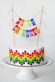 9 Easy Diy Birthday Cakes Photo Cute Easy Idea Birthday Cake Easy