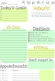 Cute Lists Weekly To Do List Cute Examples And Forms