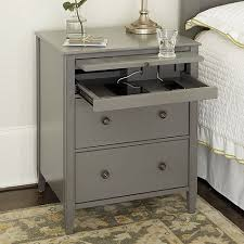 best 25 nightstand with charging station ideas