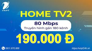Gói cước 80Mb + truyền hình (Home TV2 - cáp quang vnpt tphcm) - YouTube